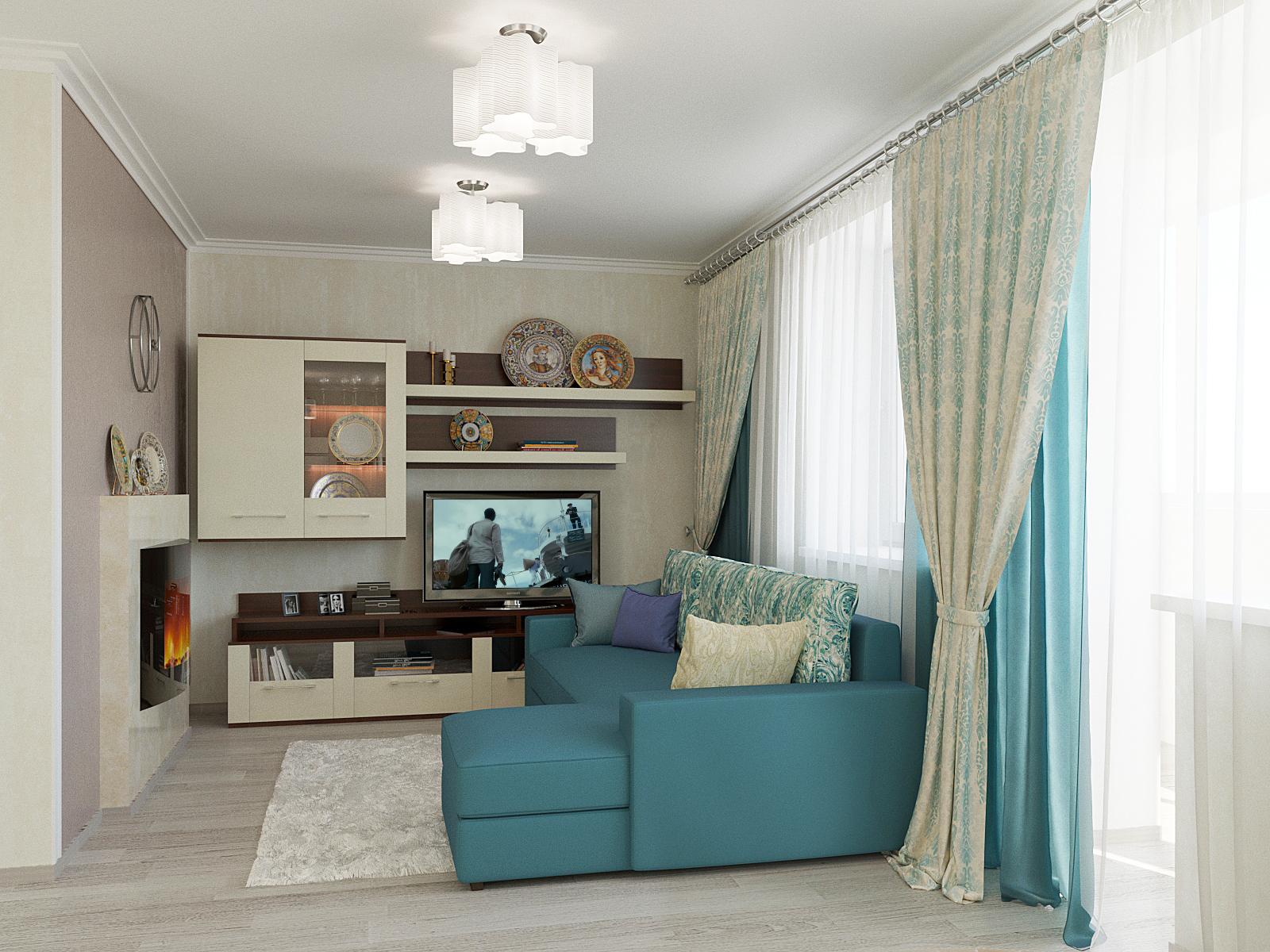 Дизайн части квартиры 50 м2